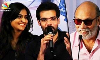 I'll do Liplock after I'm old like dad : Sibiraj Funny Speech | Sathya, Remya Nambeesan