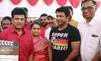 Sathyajothi films produced a Kannada film Puneeth Rajkumar hero