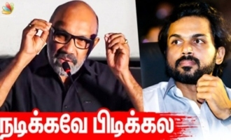 I will spoil good scenes - Sathyaraj funny interview