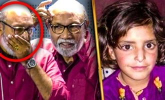 Sathyaraj's gets emotional for Asifa