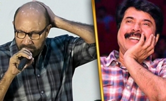 Sathyaraj Nakkal Speech : Mammootty's Peranbu Audio Launch