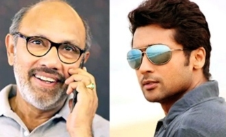 Sathyaraj's special wishes to Suriya!