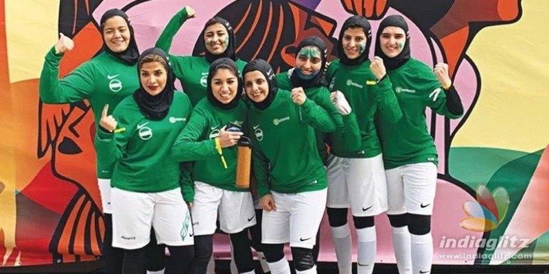 சௌதி அரேபியாவில் முதல் முறையாகப் பெண்களுக்கான கால்பந்து லீக் போட்டிகள்!!!