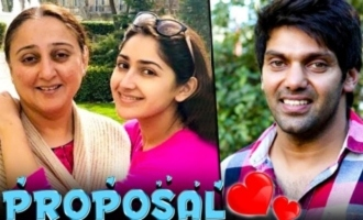 How Love Started between Arya & Sayyeshaa ? : Her Mother Reveals about Wedding