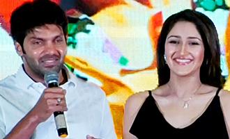 Sayesha's dancing made me look like a dancer : Arya Speech