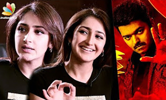 Thalapathy VIJAY sir, 100% : Sayesha Saigal Interview