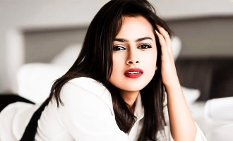 Ner Konda Paarvai Shraddha Srinath's lovely message will inspire you!
