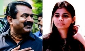 How come Chinmayi does not fear after 14 years? Seeman raises question