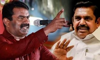 Seeman trolls Chief Minister Edappadi Palanisamy!