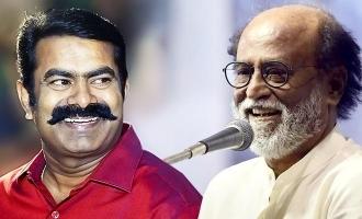 Seeman said about Rajinikanth press meet