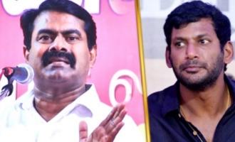 Seeman Blasts Vishal On Producer Council Strike - Seeman Speech