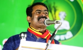 Seeman said that his party contest in 234 constituencies without alliance
