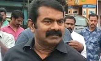 Seeman's vehicle detained by Kerala police for four hours