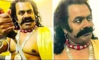 Seeman takes on a kingly avatar suddenly photos go viral