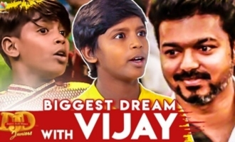 'A Film With Vijay Sir' : DJD Juniors 2 Seenu Emotional Interview