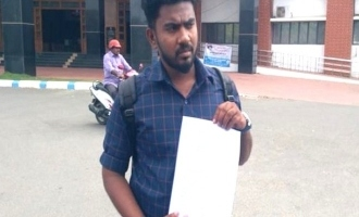 Salem tamil refugee letter to collector