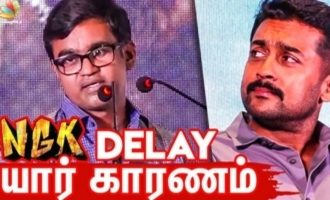 Real Reason Behind NGK Release Delay : Director Selvaraghavan Speech at Audio Launch