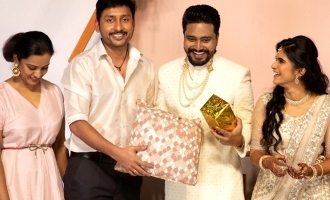 Editor Selva married his lover Anitha