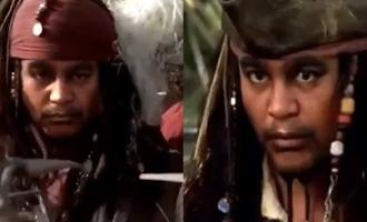Selvaraghavan as Jack Sparrow - Awesome video by Gitanjali Selvaraghavan