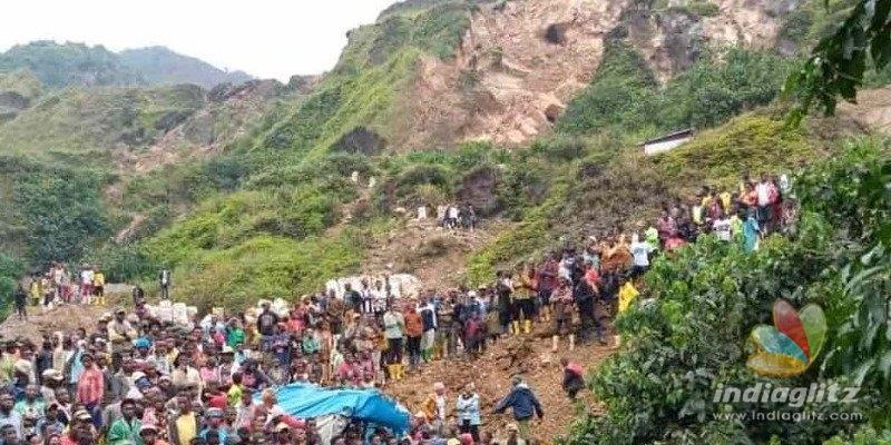 தங்கச் சுரங்கத்தில் ஏற்பட்ட நிலச்சரிவு… 50 பேர் உயிரிழந்த சோகம்!!!
