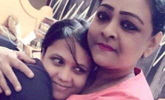 Shakila visit manimekalai house image viral