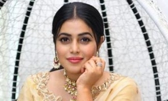 Actress Poorna kisses a contestant in TV dance show! - Video goes viral