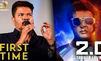 2.0 does it for the FIRST TIME in Indian Cinema : Shankar Speech