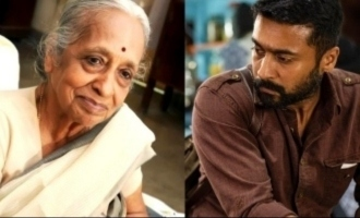 Suriya pays rich tribute to legendary cancer doctor Shantha who passed away