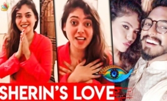 Sherin Reunites with her Love after Bigg Boss