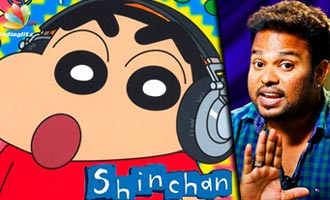 Amaithi Amaithi! : Voice of Shinchan REVEALED - Dubbing Artist Raghuvaran Interview