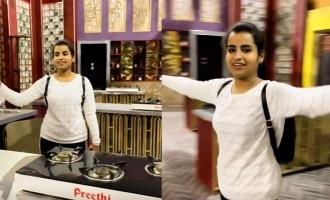 Shivangi visit cooku with comali set again viral video
