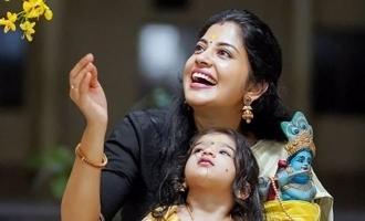 கணவர், குழந்தையுடன் பிக்பாஸ் ஆரி பட நடிகை: வைரலாகும் புகைப்படங்கள்!