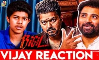 Sanjay Shortfilm - Thalapathy Vijay's Reaction : Shobi Master Interview