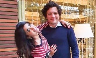 Shriya Saran's romantic liplock photo with husband turns viral!