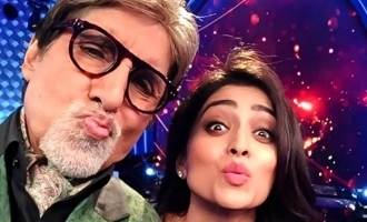 Shriya shares nostalgic moment with Amitabh Bachchan and wishes recovery!