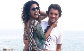 Popular actress wears scorching hot bikini dress on husband's request