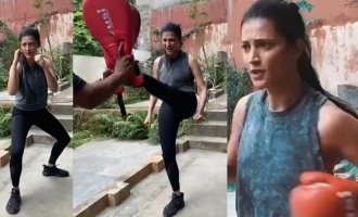 Shruti Haasan opts for an adventure sport to sweat it out in her new video!