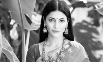 Shruti Haasan unexpectedly turns into an aunty in new viral video