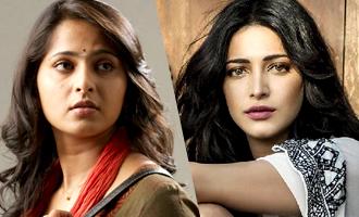 Shruti Haasan out Anushka in with Suriya 'S3'