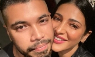 Shruti Haasan's new boyfriend posts intimate photo on her birthday