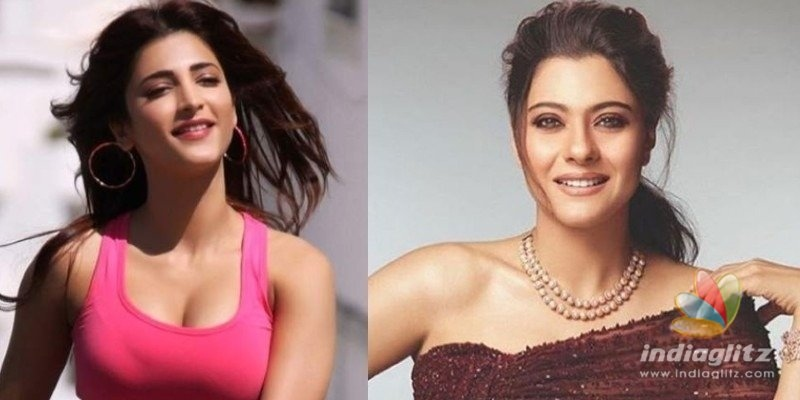 Shruti Haasan and Kajol team up for an exciting project