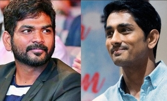 Vignesh Shivn's strong reply to Siddharth!