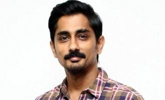 Siddharth to star in thriller web series next!