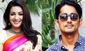 Siddharth and Catherine Tresa's New Movie Starts