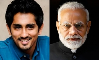Siddharth lashes out at PM Modi!