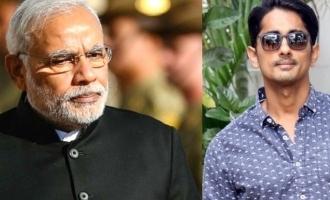 Siddharth trolls PM Narendra Modi again!
