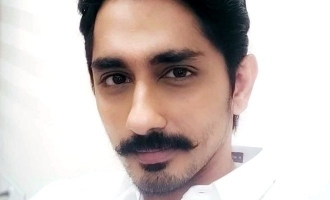 Siddharth's exciting announcement on his upcoming movies!