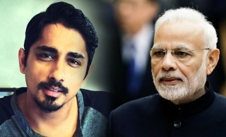Siddharth trolls Modi again!