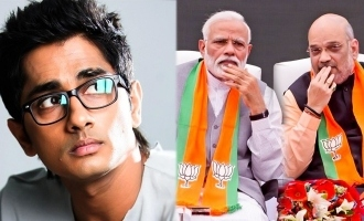 """They are Shakuni and Duryodhana!"" Siddharth attacks Modi and Amit Shah!"
