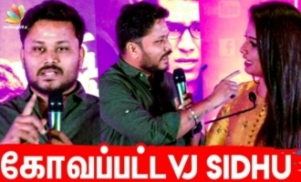 VJ Sidhu Gets Angry On Stage? | NNOR Success Meet